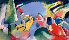 Wassily Kandinsky. Improvisation 14, 1910