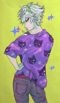 Boy Character, Character Design, The Wolf Game, Steven Universe, Japanese Games, Cute Anime Guys, Prison, Manga, Cool Art