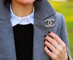 Chanel brooch pin
