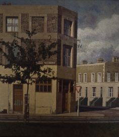Turners Road with Tree, 1984 Paintings From Doreen Fletcher's Archive