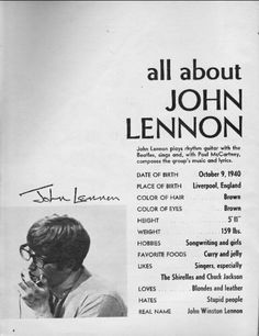 All About John!  {Hates: Stupid people. Hobbies: Girls. Hahaha!}