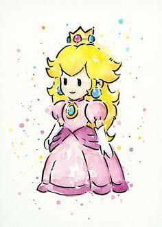 retrogamingblog: Mario Character Watercolors by... | Happy Gaming - GamesNEXT.com