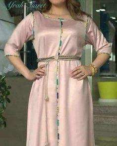 1,482 mentions J'aime, 12 commentaires - caftan marocaine (@caftan_maro) sur Instagram Beautiful Maxi Dresses, Pretty Dresses, Abaya Fashion, Fashion Dresses, Kaftan Designs, Kaftan Abaya, Boho Fashion Summer, Moroccan Caftan, Mode Style