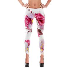 78dcbe7930c65 22 Best Floral Leggings images | Floral leggings, Tights, Floral flowers