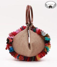 potli on curtains - Google Search Japanese Knot Bag, Tackle Bags, Potli Bags, Tassel Purse, Embroidery Bags, Boho Bags, Jute Bags, Fashion Sewing, Vintage Handbags