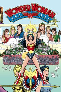 Wonder Woman By George Perez Omnibus Vol. 1 Hc