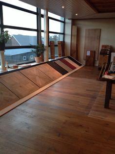 Oldhuys vloeren Kootwijkerbroek showroom