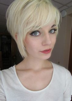 I'm not going this short that's for sure, but this is super cute and someone should let me do it!
