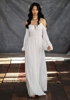 Bianca by Claire Pettibone Bohemian Rhapsody / Gypsy Boho Claire Pettibone, Vestidos Vintage, Vintage Dresses, Bridal Gowns, Wedding Gowns, Wedding Blog, Wedding Styles, Trendy Wedding, Perfect Wedding