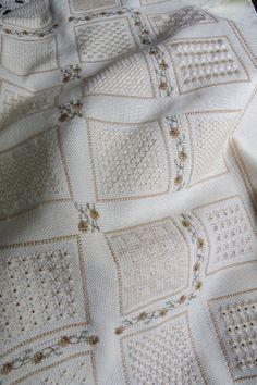 Filomena Crochet: Bordado a Fios Contados - C´est Fini