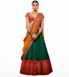 To recycle old sarees