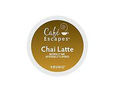 Cafe Escapes Chai Latte K-Cup Pods
