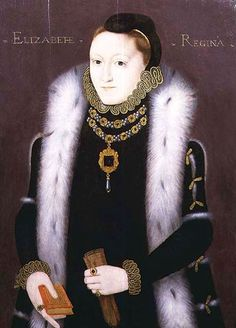 The Clopton Portrait, circa 1558-60, Queen Elizabeth I- William Cecil, Lord Burghley, speaking of Elizabeth, 'A princess who can act any part she pleases.'