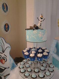 Torre de Cupcakes Festa Gabriela