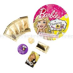 COMPRIMATE POPPING CANDY BARBIE