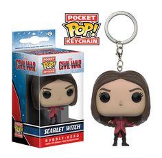 Pocket Pop! Keychain: Captain America 3 - Scarlet Witch