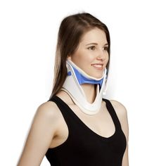 Indications: Acute neck pain Minor muscle spasm associated with spondylosis Protection during halo application Features: Made of LDPE material with padding Sliding tabs for easy adjustment Anterior hole for tracheostomy Universal design Size: Universal Ligament Injury, Neck Injury, Sprain, Halo Brace, Tibial Plateau Fracture, Soft Tissue Injury, Knock Knees, Posture Collar, Ankle Surgery