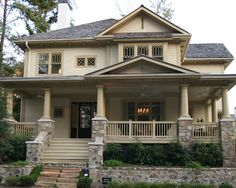 Traditional Exterior Craftsman Style Design, Pictures, Remodel, Decor and Ideas