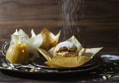 {Food} Hefebällchen mit Kürbismarmelade und Apfelmus - Cookies&Style