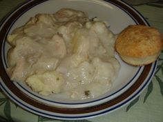 my grandmother's chicken and dumplings....old, authentic southern recipe! :D