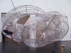 PEDRO REYES - FLOATING SELF CONTAINED CAPULA PODS
