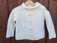 BABY-GAP-Girls-3xl-3-Years-Wool-Blend-Knit-Sweater-J174