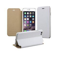 "iPhone 6 Case, E-Trends Elegant Series PU Leather Folio Stand Flip Cover Case with Matte Finish for iPhone 6 4.7"" (White) E-Trends http://www.amazon.com/dp/B00P80B9T8/ref=cm_sw_r_pi_dp_TiCVub15FTT7N"