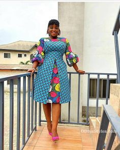 african fashion ankara Beautifully made Short Ankara Gown Styles African Dresses For Kids, African Maxi Dresses, Latest African Fashion Dresses, African Print Fashion, African Attire, Ankara Fashion, Africa Fashion, African Prints, African Fabric
