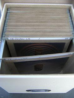#papercraft #crafting supply #storage. CRAFTY STORAGE: Dies