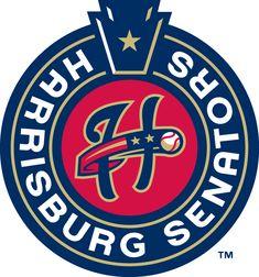 Harrisburg Senators Primary Logo (2013) -