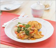 Apricot Almond Chicken - A sweet take on plain chicken breasts... special enough for guests but so tasty your family will want them everyday.