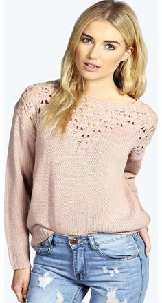 boohoo Kristina Crocket Knit Yoke Jumper - pink azz14069 Go back to nature with your knits this season and add animal motifs to your must-haves. When youre not wrapping up in woodland warmers, nod to chunky Nordic knits and polo neck jumpers in peppered mar http://www.comparestoreprices.co.uk/womens-clothes/boohoo-kristina-crocket-knit-yoke-jumper--pink-azz14069.asp