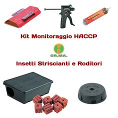 Check Out Our Awesome Product: Kit per Monitoraggio HACCP di OR.MA. Torino  >>>>>>Tutto l'occorrente haccp  in un unico kit pronto all' uso.
