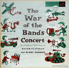 Cover by Jim Flora Cd Cover, Cover Art, Album Covers, The Heir, War Band, Ep Album, Extended Play, Various Artists, Rock And Roll
