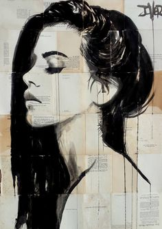 "Saatchi Art Artist LOUI JOVER; Drawing, ""south seas"" #art"