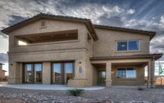 Rio Rancho, New Mexico - gorgeous exterior view of a D.R. Horton home #FindYourHome