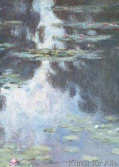 Claude Monet - Water Lilies (Nympheas)