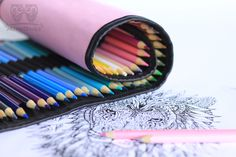 10 benefits of coloring books for adults. Adult Coloring Pages, Coloring Books, Roll Up Pencil Case, Mom And Dad, Owl, Rings For Men, Arts And Crafts, Mini, Blog