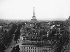 Unknown - Aerial View over Paris - art prints and posters