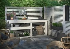 Jabo Outdoor Kitchen Horizont White Although ancient inside idea, a pergola continues to be enduring Small Outdoor Patios, Rustic Outdoor, Small Patio, Outdoor Spaces, Outdoor Living, Outdoor Decor, Small Outdoor Kitchens, Simple Outdoor Kitchen, Outdoor Kitchen Design