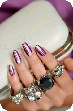 nail art ligne striper