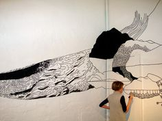 Wall paintings : Jenni Rope
