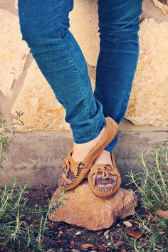 Roots & Feathers - El Paso Minnetonka Mocs