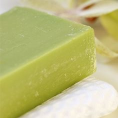 Make this gentle, skin nourishing soap with avocado oil and avocado puree. The result is a lovely bar with creamy, lotion like lather.