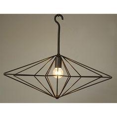 Star Pendant Noir... natural, simple and classic #noir #homedecor #design #interiors #interiorhomescapes #interiorhomescapes.com