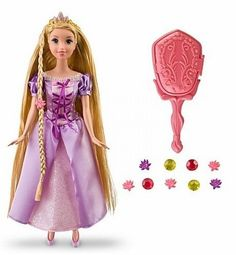 Disney Princess Tangled Grow & Style Rapunzel Doll Hair Grows Hair Accessories | Toys & Hobbies, TV, Movie & Character Toys, Disney | eBay!