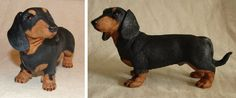 I came across the polymer clay dachshund on craftster.org. He is amazing! http://www.craftster.org/forum/index.php?topic=404233.0