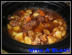 With A Blast: Oxtail (slow-cooker)