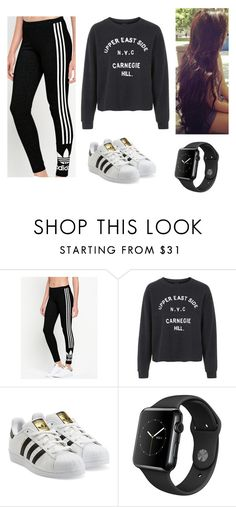 """""""Set #340"""" by juleenm on Polyvore featuring adidas Originals and Topshop"""