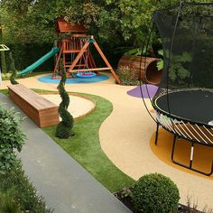 Childrens Play Area Garden Design - Gardening Prof-Childrens Play Area Garden Design